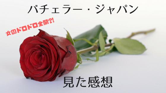 「美女25人の醜い争い?世界的人気の恋愛番組バチェラー・ジャパンを見た感想」のアイキャッチ画像