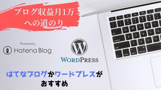 ブログサービスの選択