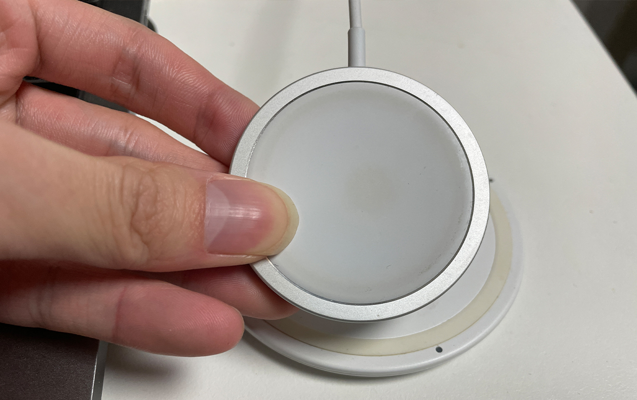MagSafe充電器の写真